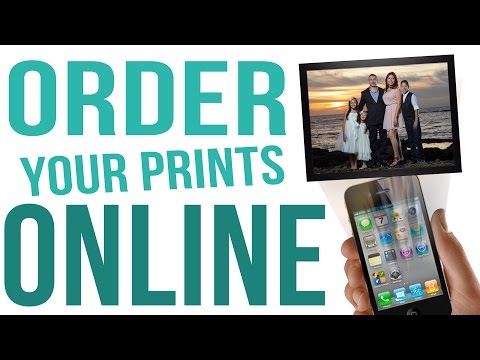 How To Order Your Prints Online