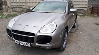 Porshe Cayenne Turbo 2005г. в Красноярске