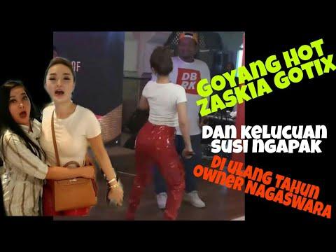 Goyang Heboh Zaskia Gotik,lucunya Susi Ngapak Dan Kehebohan Artis2 NAGASWARA-ulang Tahun Bp.RAHAYU