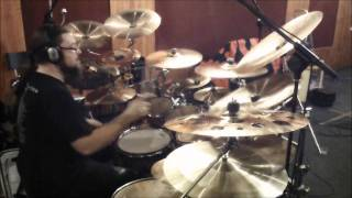 Antigama - Stop The Chaos EP Recording session - Drums