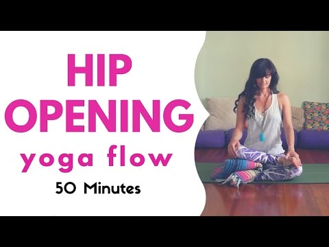 Hip Opening Yoga Flow - Moderate Level