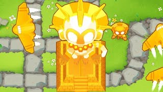 Bloons Tower Defense 6 - 5th Tier Temple - The True Sun God