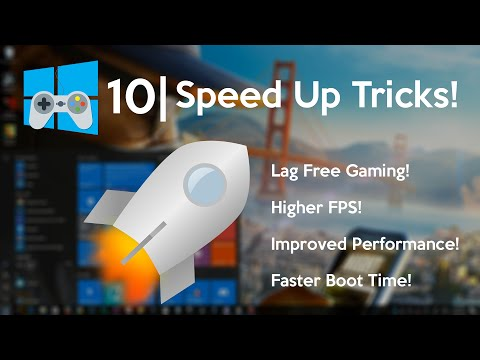 How to Speed Up Windows 10 for Gaming (really easy)