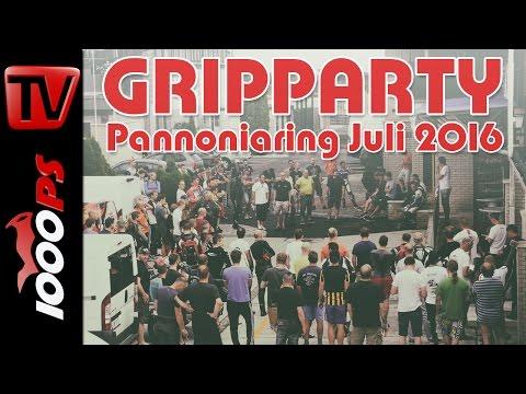 Gripparty Pannoniaring Juli 2016 | Eventvideo & Teilnehmer