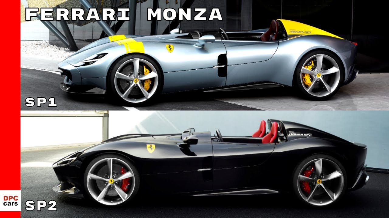 ferrari monza sp1 sp2 youtube. Black Bedroom Furniture Sets. Home Design Ideas