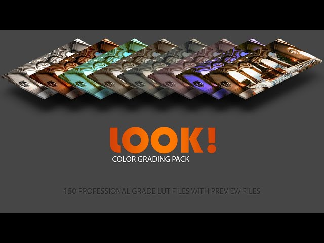 New editor widget for LOOK! Color Grading Pack
