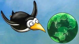 Несносный ПИНГВИН съел Землю будущего. ИГРА Tasty Planet Forever #7 на Игрули TV