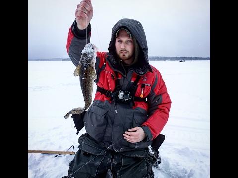 Moosehead Lake Ice Fishing