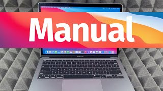 MacBook Air M1 Basics - Mac Manual Guide for Beginners - New to Mac