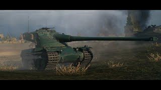 World of Tanks Blitz Asia Server: AMX 50 120 (road to tier X gameplay)