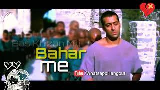 Tere Naam WhatsApp status lyrics Log Ishq Mein Kya Se Kya Ho Gaye