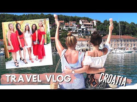 TRAVEL VLOG CROATIA | GIRLS WEEKEND IN HVAR