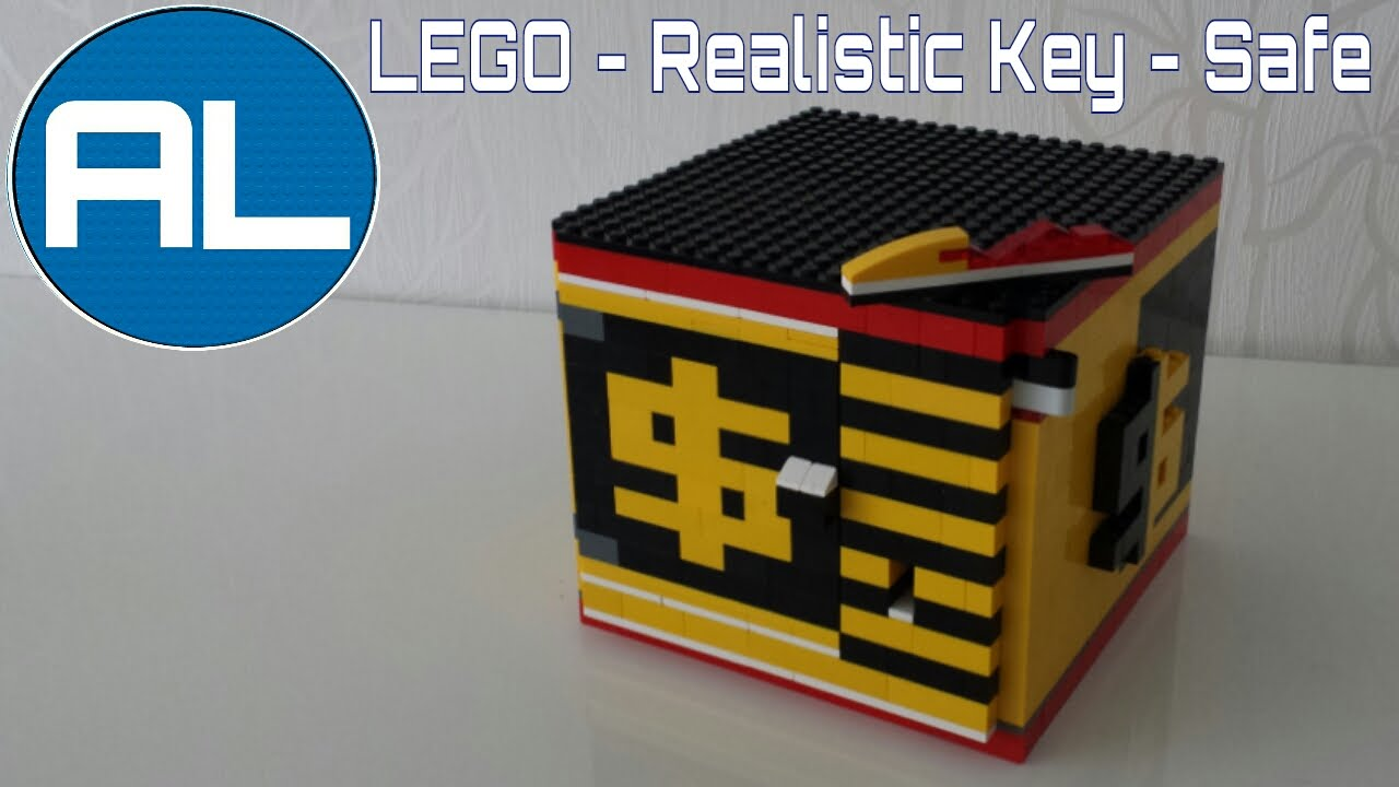 Lego Safe Realistic Key Mechanism With Tutorial Youtube