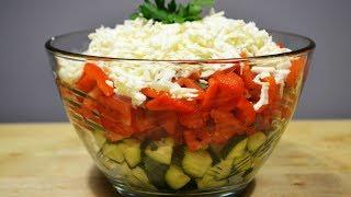 Шопский САЛАТ или Лучший Летний Салат  |  Salad vegetables