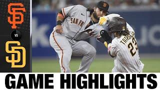 Giants vs. Padres Game Highlights (9/21/21) | MLB Highlights