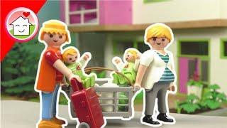Playmobil Film deutsch - Umzug in die Luxusvilla - Geschichte für Kinder von Familie Hauser