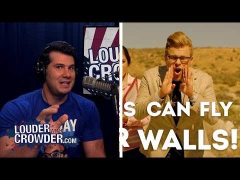 DEBUNKED: 'Adam Ruins Everything' Why a Wall Won't Stop Immigration | Louder With Crowder