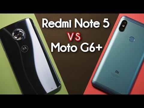 RedmiNote 5 vs