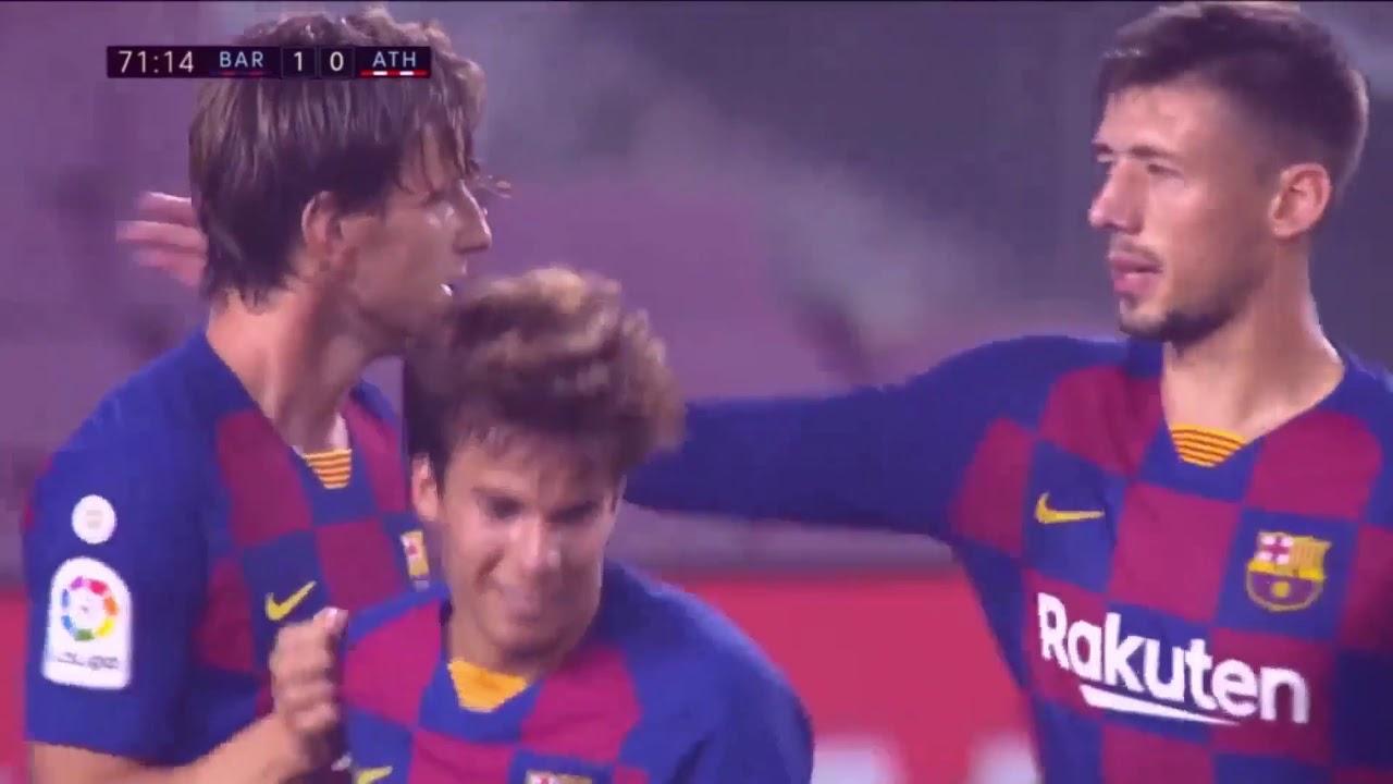 Rakitic Goal Barcelona vs athletic bilbao 24/06/2020 - YouTube
