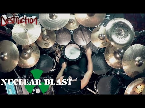 DESTRUCTION - Randy Black - 'Born To Perish' (OFFICIAL DRUM THROUGH)