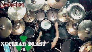 DESTRUCTION - Randy Black - 'Born To Perish' (OFFICIAL DRUM THROUGH)