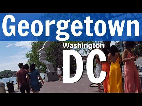 Walking - Georgetown Waterfront | Washington DC - Saturday, May 16th 2020