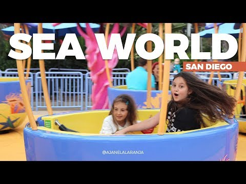 Sea World San Diego com As Laranjinhas