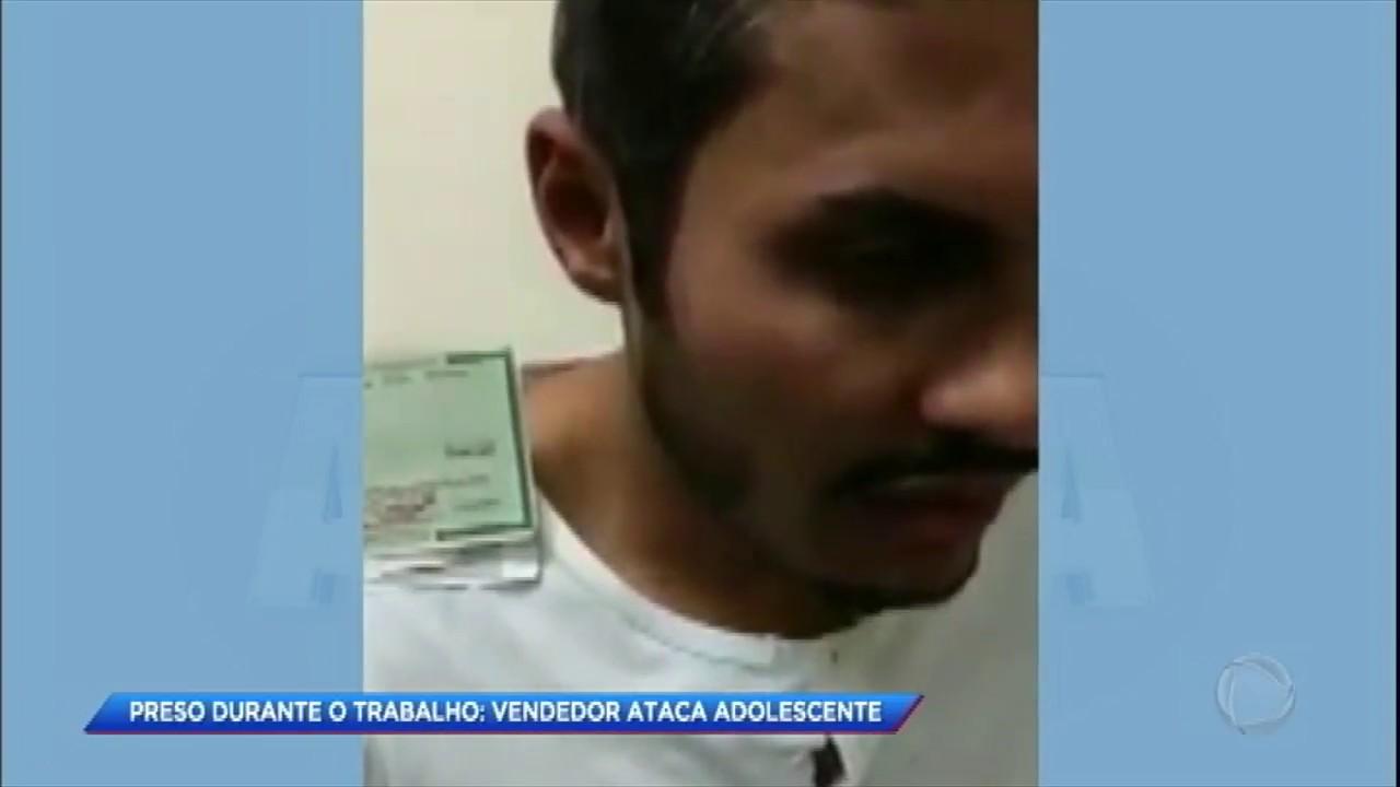 adc3d22a0 Câmera de segurança flagra vendedor abusando de criança de 11 anos em SP