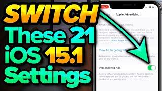 iOS 15.1: Settings You NEED To Change NOW