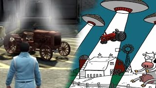 GTA 5: Abducted With The Epsilon Tractor Theory!