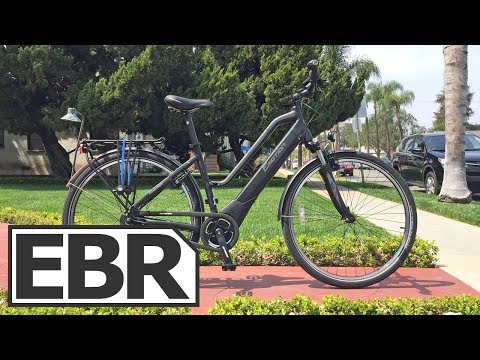 Easy Motion Atom Diamond Wave Pro Video Review - $3k Commuting Electric Bike, Brose S