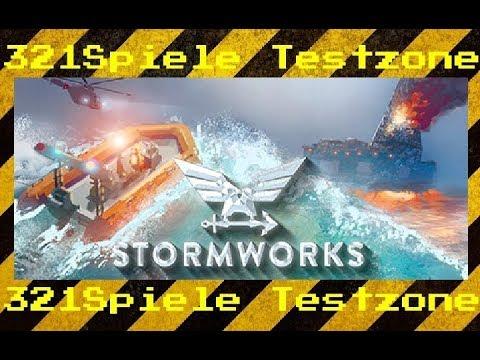 Stormworks Build and Rescue - Angespielt Testzone - Gameplay Deutsch