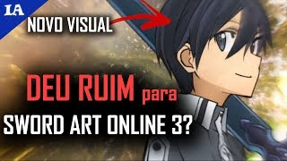 vuclip SWORD ART ONLINE 3 GANHA DATA (mas MUDA STAFF e VISUAL)