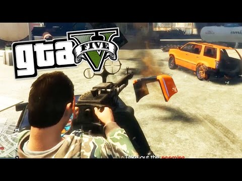 Grand Theft Auto 5 - SERIES A FUNDING HEIST FINALE (PC Gameplay Walkthrough) | Pungence