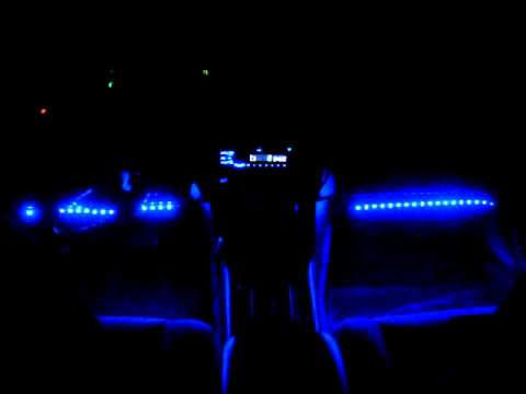 My LED lights pulsing to linkin park