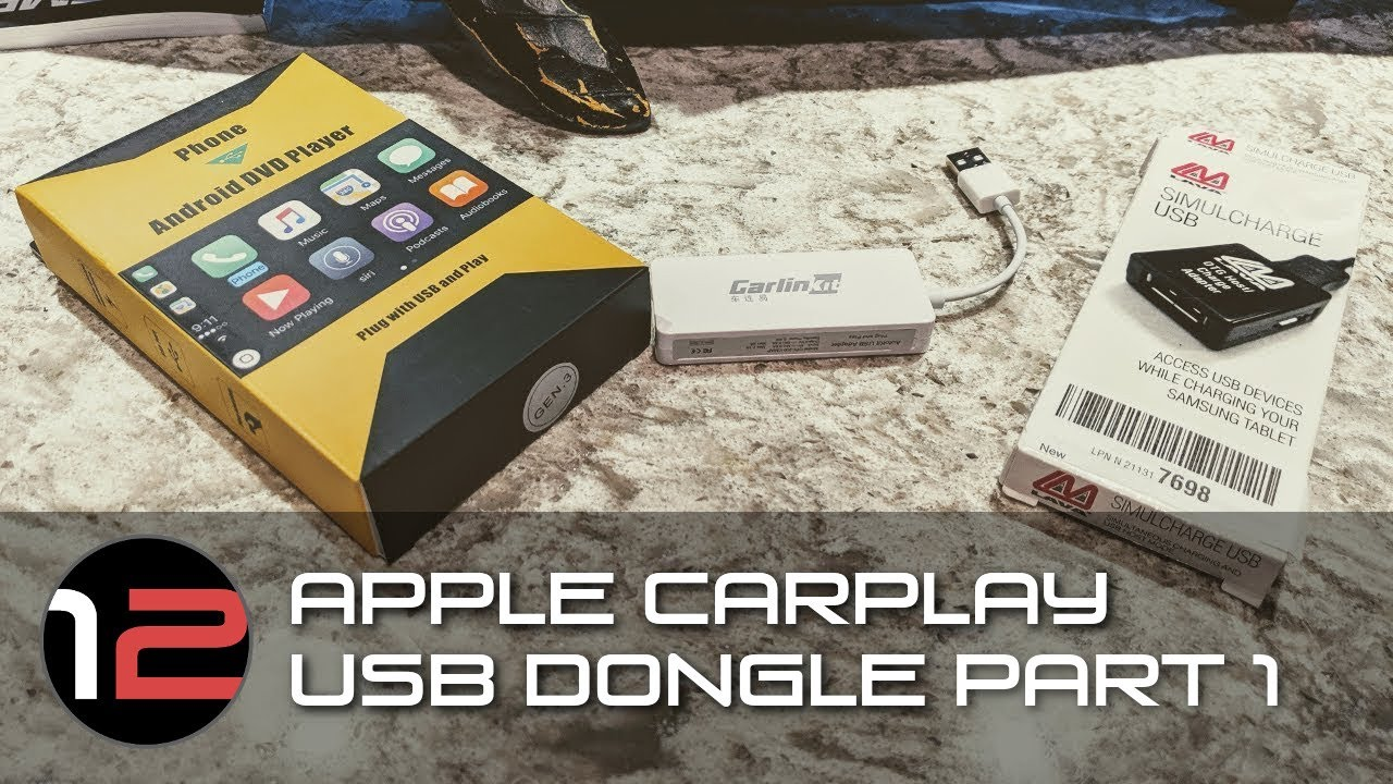 Apple Carplay Usb Dongle Youtube