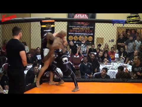 Combat Challenge 11 Nathaniel Brown VS Tom Crosby   SHAREFIGHT COM