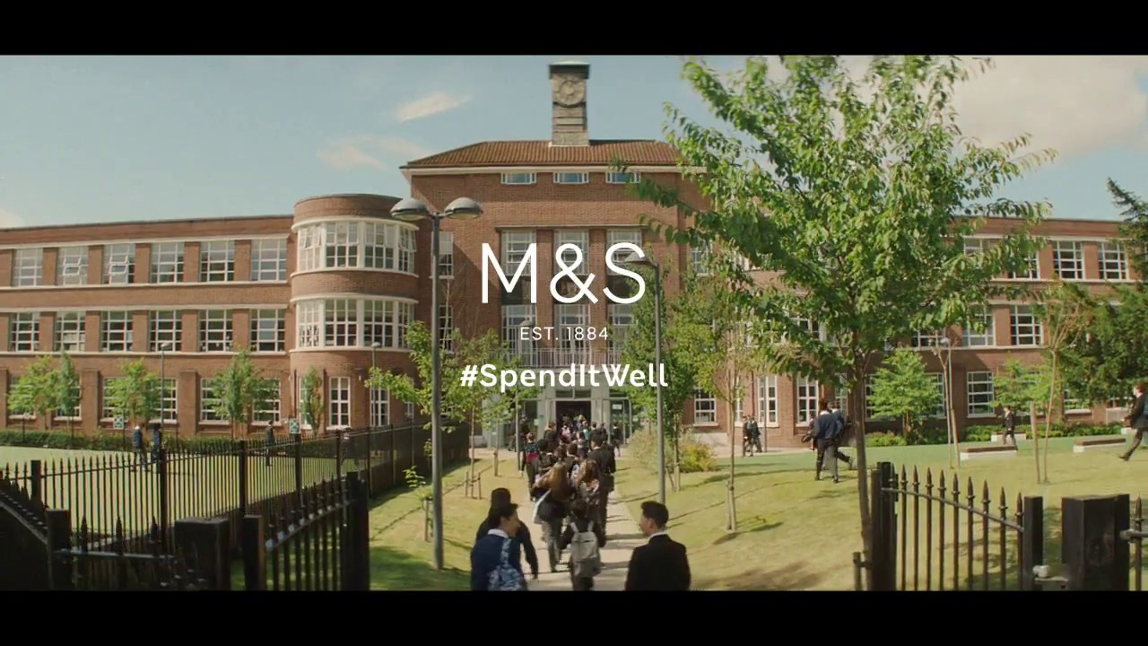 M&S Advert Filmed at a School on Hempstead Road Watford