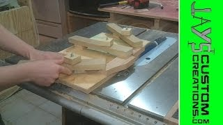 Jointing small stock with the table saw - 051
