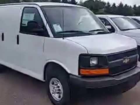 2015 Chevrolet Express Cargo Van at Feldman Chevrolet of Highland MI Flint MI