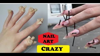 Weirdest Nail Art Design That Should Not Exist in 2020