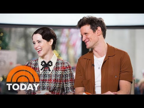 'The Crown' Stars Claire Foy And Matt Smith Open Up About Season 2  TODAY