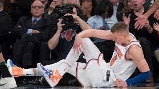 Knicks Lose Kristaps Porzingis To Torn ACL