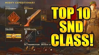 TOP 10 SND BEST CLASS SETUPS COD WW2! SEARCH AND DESTROY BEST CLASS SETUP COD WW2 SND BEST CLASSES!
