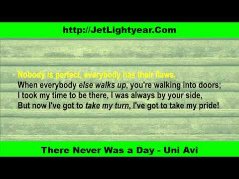 Never Was a Day - Uni Avi (Karaoke - Music Only)