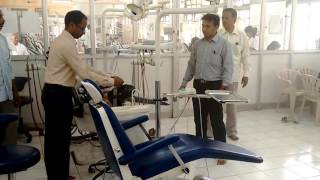 Disinfection in Government Dental College, Bangalore - Organic Method