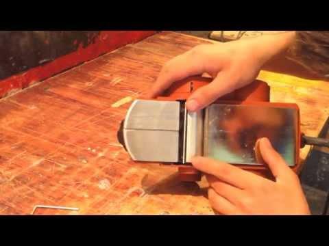 Как заточить ножи электрорубанка