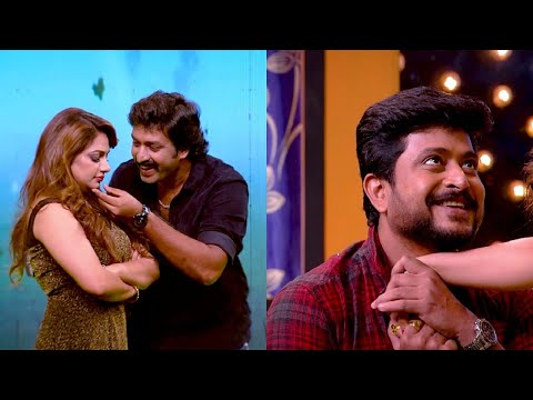 #OnnumOnnumMoonnuSeason3 l Two heart throb heroes on the floor l Mazhavil Manorama