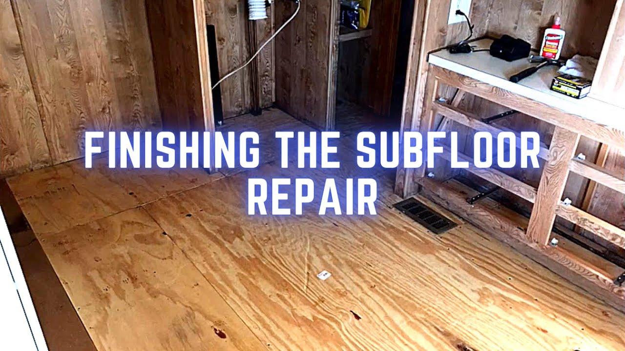 Mobile Home Floor Repair Water