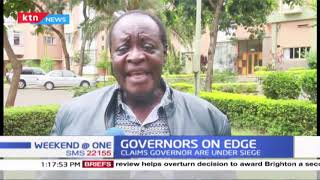 Vihiga Governor Wilber Otichilo wants deputy governors to stop siege on governors offices
